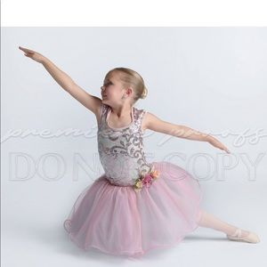 Child small ballet fairy costume